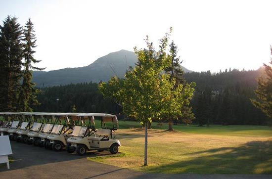 Mountain Meadows Golf Course Rental Power Carts